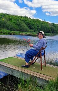 Helen Fishing