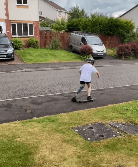 Keeley Skateboarding image